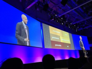 Seth Godin as captured by Christopher Penn @cspenn at INBOUND13