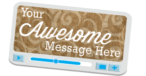 Your Awesome Video Marketing Message Here