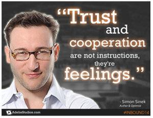 Simon Sinek INBOUND14 Keynote Quote Image