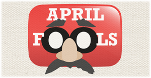 YouTube April Fools' Day