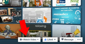 Watch Video with Facebook Call to Action feature